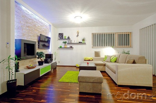 Priestor obývacej izby doplňuje