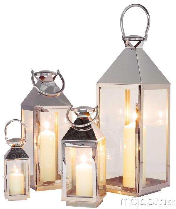 Súprava štyroch lampášov Giardino,