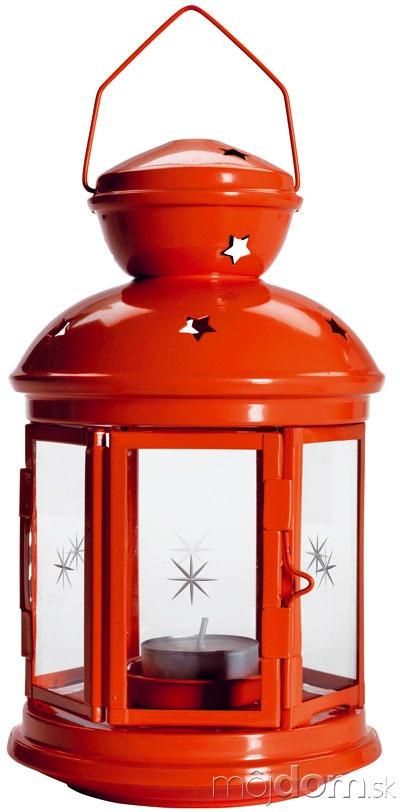 Červený lampáš Rotera, výška