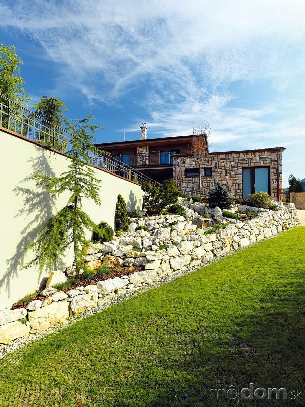 Klasický vzhľad domu aj
