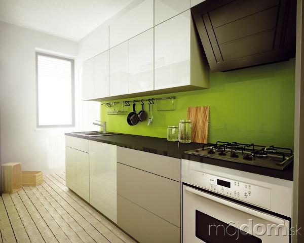 2a49da2648a4e 2 návrhy kuchyne v stiesnenom priestore panelákového bytu | Mojdom.sk