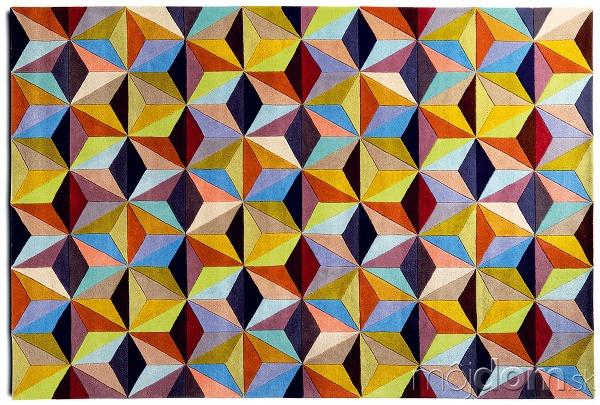 Cubic, viacfarebný, 240 ×