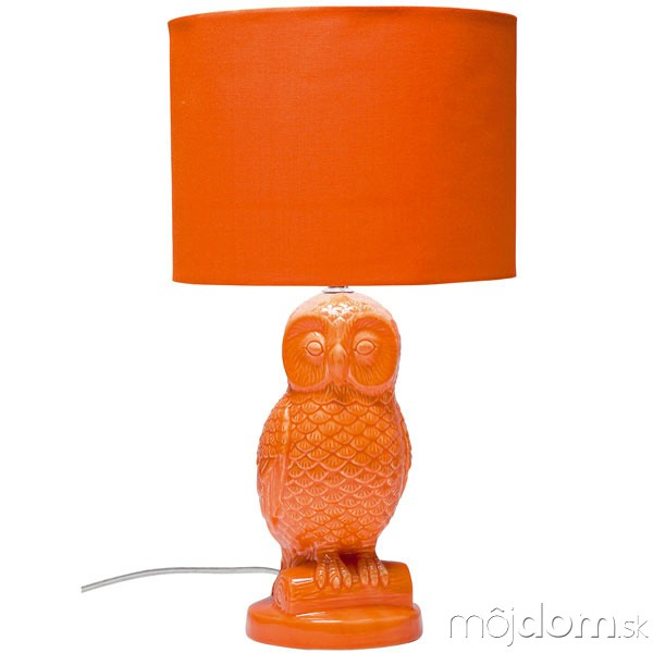 Lampa Eule Orange, kamenina,
