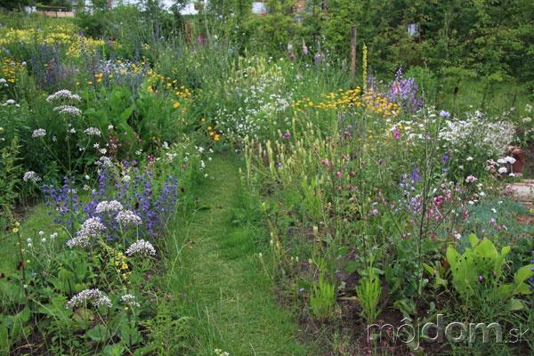 Okrasná ekologická záhrada na