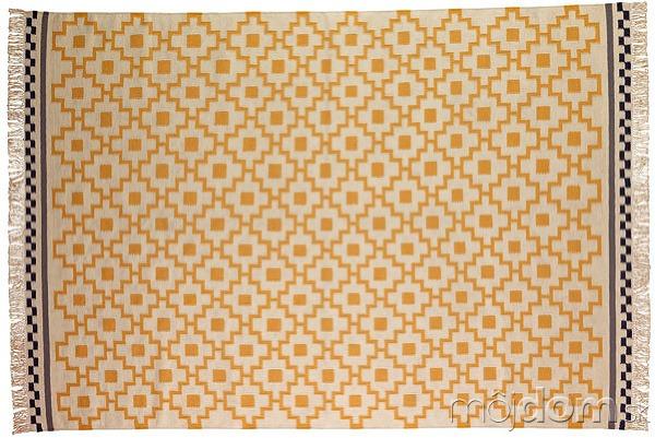 Ručne hladko tkaný koberec