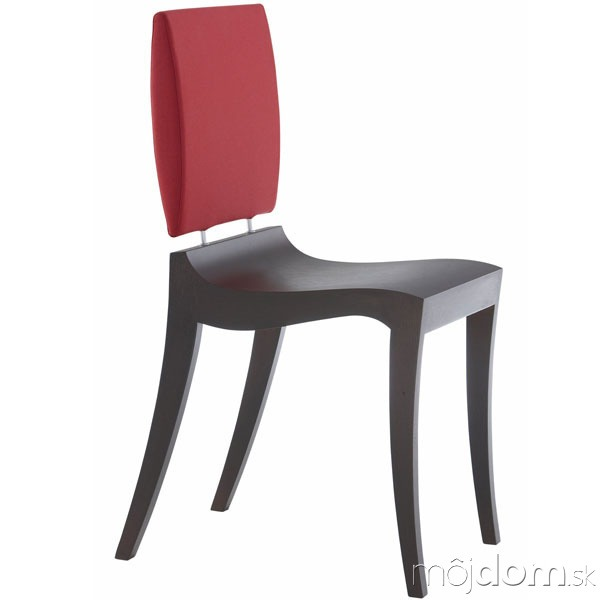 Stolička Finn, drevené sedadlo