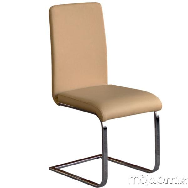 Jedálenská stolička Nayfa, chróm,