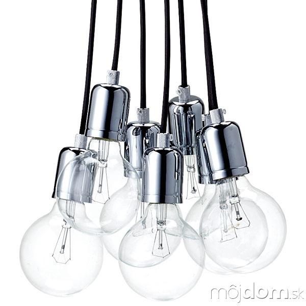 Stropný luster Bulbs, 288