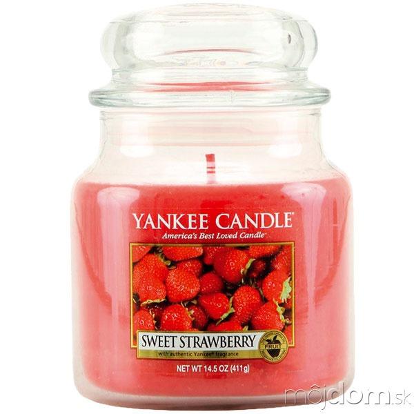 Vonná sviečka Sweet Strawberry