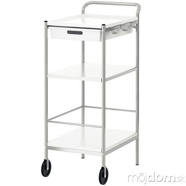 Kuchynský vozík Bygel, nehrdzavejúca
