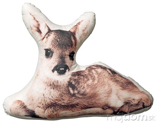 Bambi, tvarovaný obrys, bavlna,