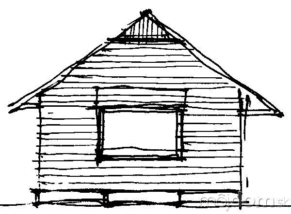 Pôvodným návrhom architekta Tesáka