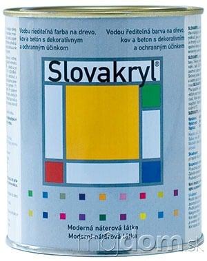Náterová farba Slovakryl, od