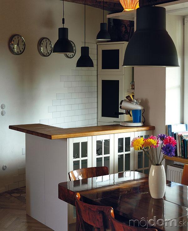 Kuchyňa tvorí vdennej miestnosti