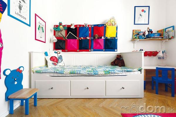 Izba malého Danielka je