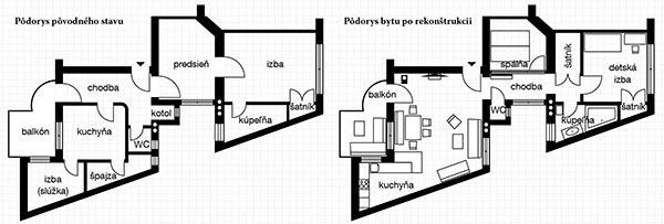 Rekonštrukciou navrátili starému bytu
