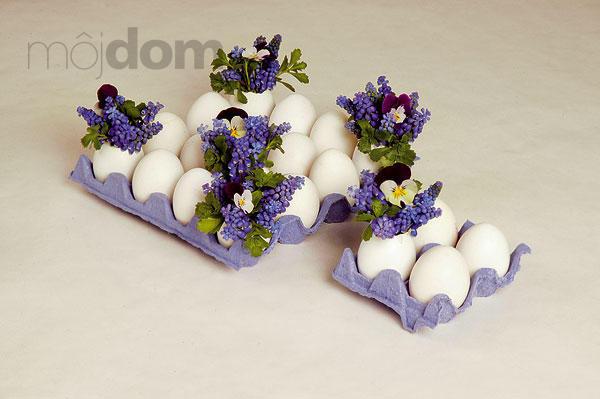 Veľkonočná dekorácia z kvetín