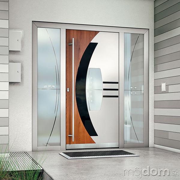 Vstupné dvere môžu byť