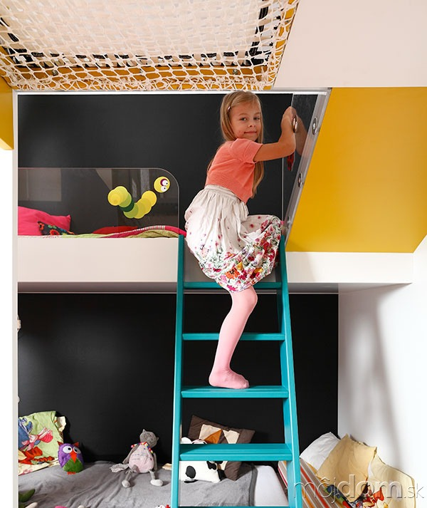 V tejto detskej izbe