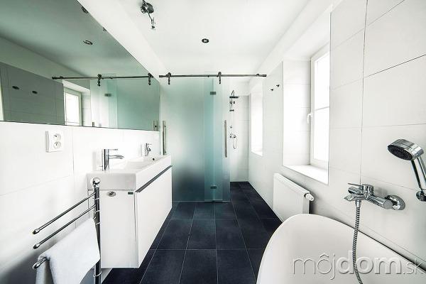 Kúpeľňa sa ako jediná
