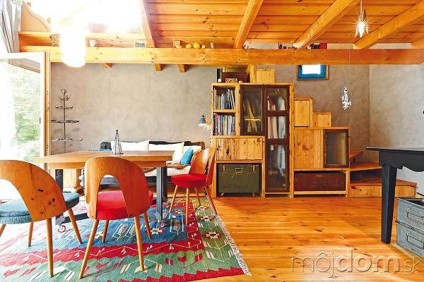 Praktické schodisko súložným priestorom