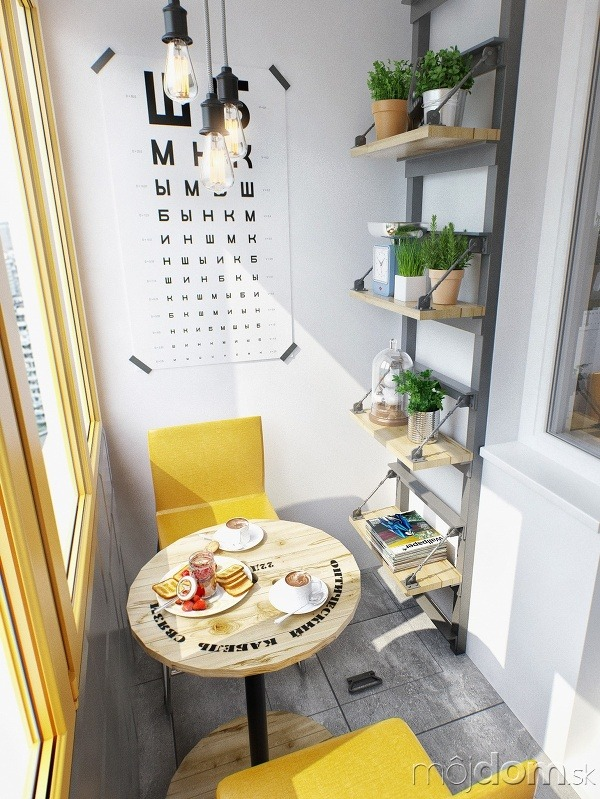 Návrh bytu pre mladý