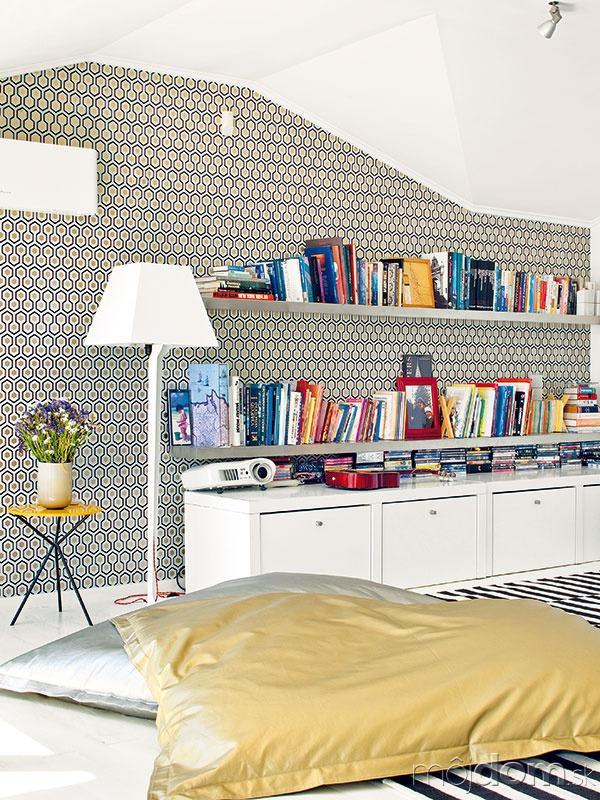 Rozdvojená obývačka. Zpôdorysného členenia
