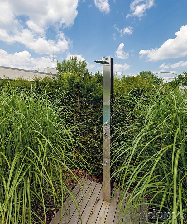 Záhradu zrealizovalo záhradné centrum