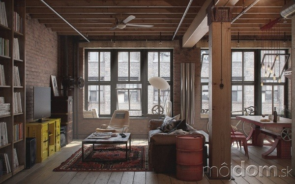 Podkrovný byt s dušou