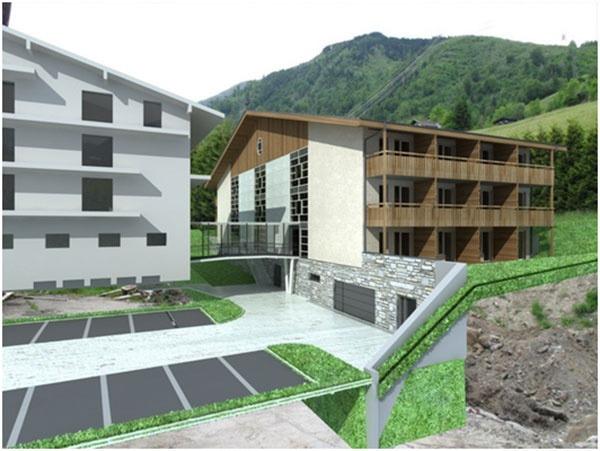 Výstavba hotelu v Kaprune