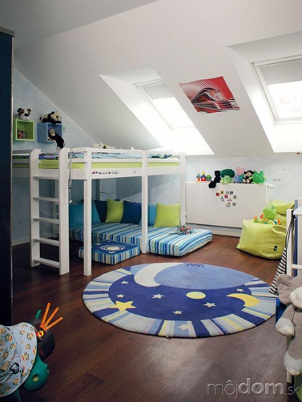 Detské izby sú zariadené