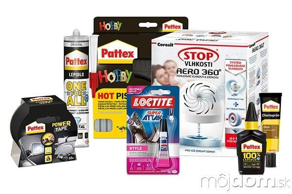 Vyhrajte balíček lepidiel Pattex,