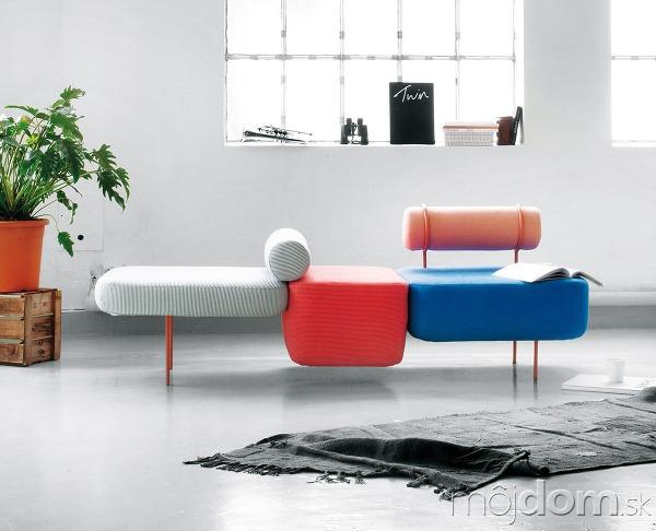 Modulárna skladačka – sedačka