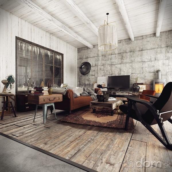 3 interiéry s (ne)tradičnými