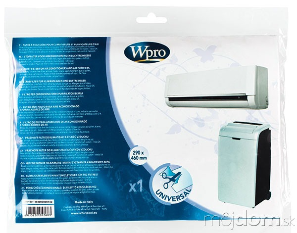 Ekologický prachový filter Wpro