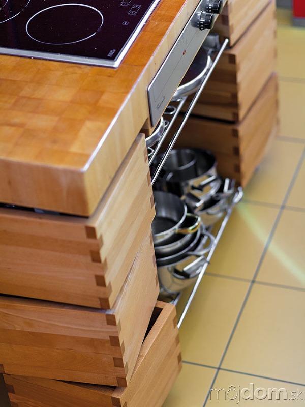 Premyslená kuchyňa má vychytávky