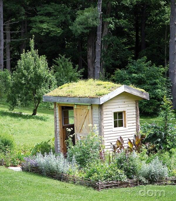Ak je záhradný domček