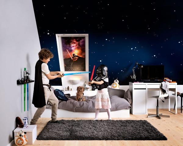 Motív Star Wars privedie