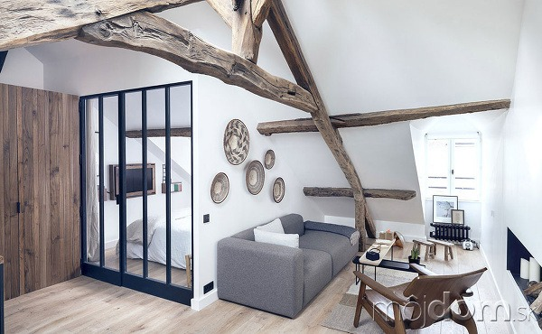Moderný byt s pôsobivým