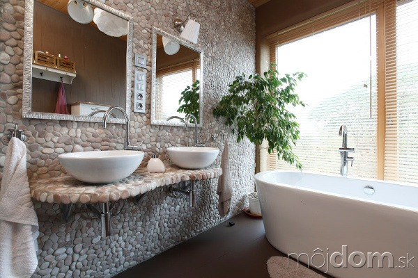 Kúpeľňa má podobne ako