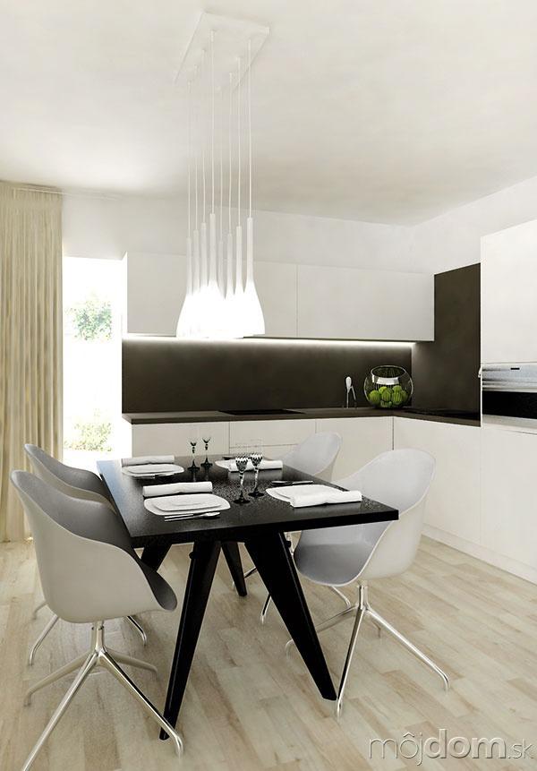 Svetlá podlaha umožnila architektovi