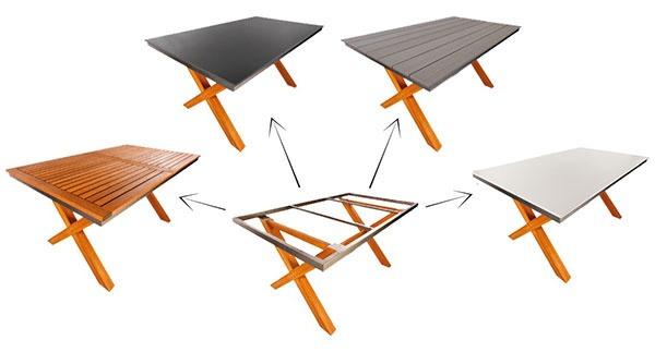 Podnožia a stolové dosky