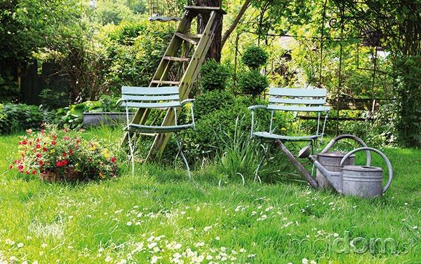 Ako si v záhrade