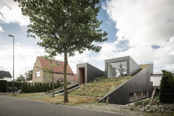 Netradičný dom v Belgicku