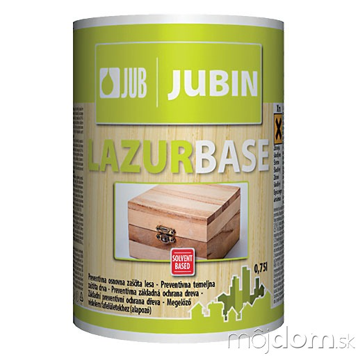 JUBIN Lazurbase je bezfarebná