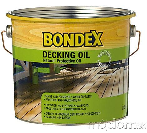 BONDEX DECKING OIL je
