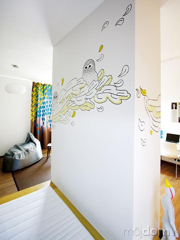 Steny vdetskej izbe môžu