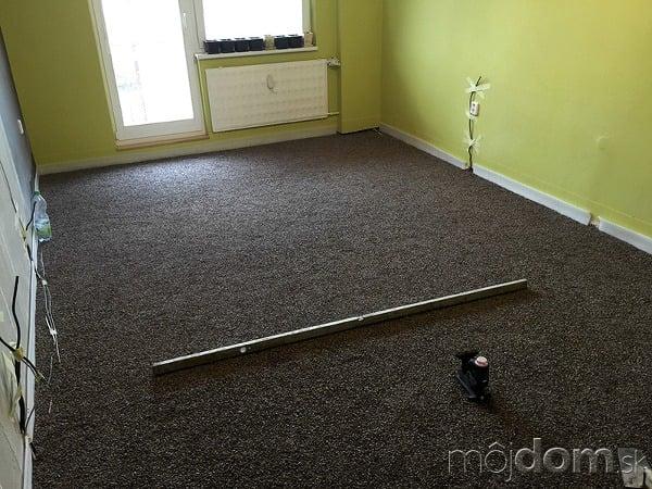 Premena obývačky na izbičku