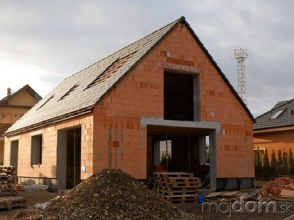 Pasívny dom bez zateplenia
