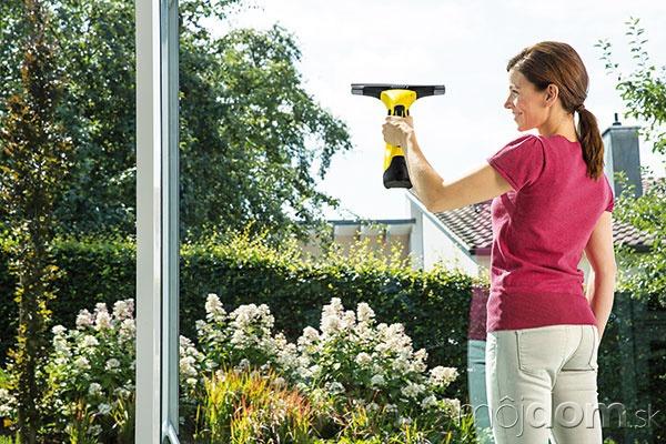 Efektívne čistenie okien zabezpečí